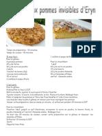 Gâteau Aux Pommes Invisibles d'Eryn