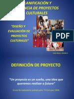 Planificación y Gerencia de Proyectos Culturales