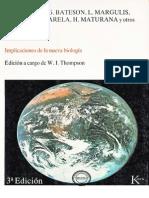 Gaia Implicaciones de La Nueva Biologia