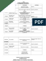 Cronograma Estética I 2º Cuatrimestre 2014