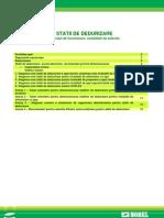 Statii de Dedurizare - Principii, Selectie