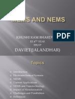 MEMS by k r Bhardwaj