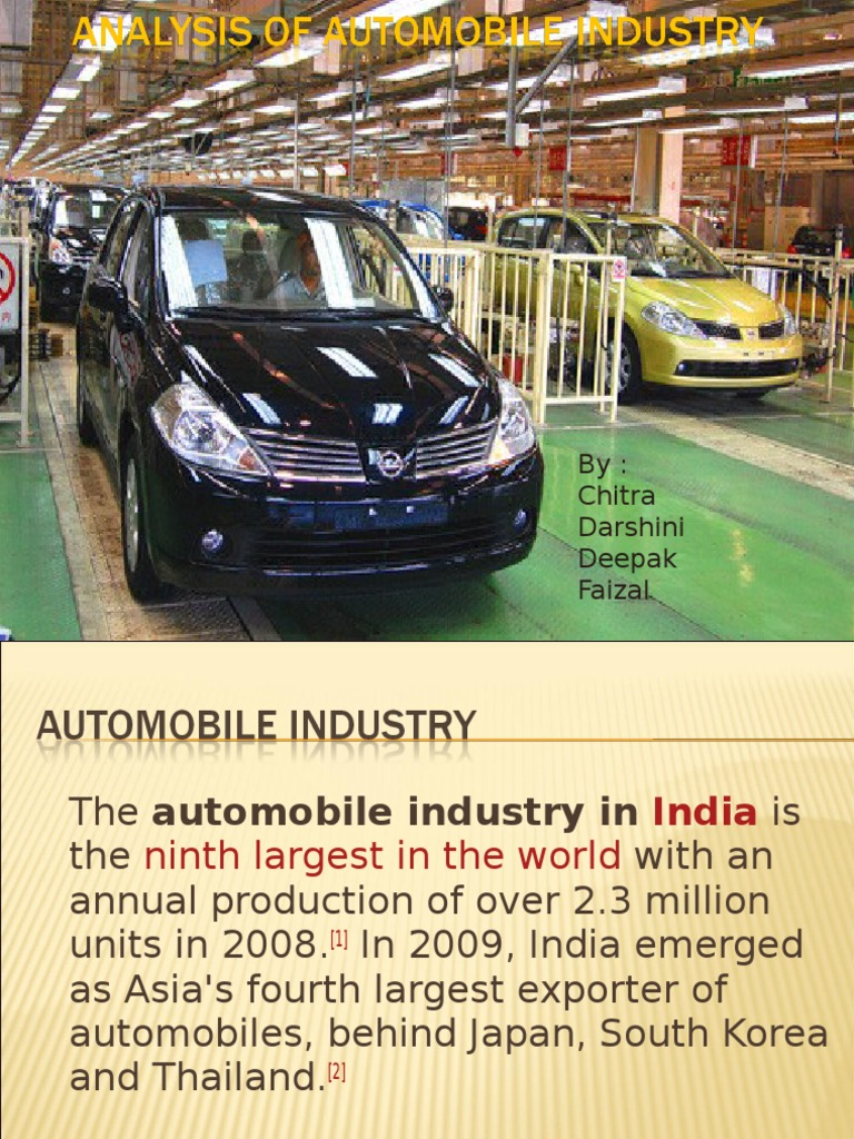 Fundamental and Technical Analysis of Automobile Sector