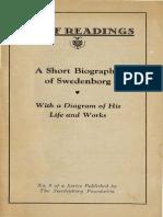 Brief Readings A SHORT BIOGRAPHY OF SWEDENBORG John C Ager Swedenborg Foundation