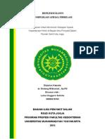 Refleksi Kasus Af Komplikasi Dr.endang w .Sp.pd