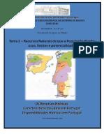 Documento Apoio Ao Estudo Disponibilidades Hidricas Em Portugal