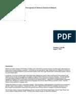An Overview of Modern Standard Minhast