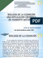 Biología de La Cognición