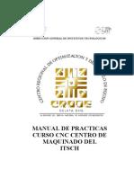 Manual Centro de Maquinado CNC