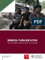 Indonesia - Pluralism in Peril