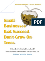 Small Businesses That Succeed Don't Grow On Trees