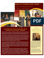 EUROPEAN JOURNAL OF TOURISM AND TRADE. 2014-ZIMBABWE-WORLD BEST TOURISM DESTINATION