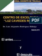 Centros de Excelencia TB y PAL 2014