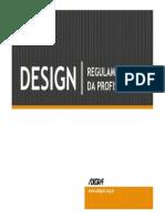 Design Regulamentação