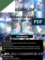 Zodiac Spa Ppt