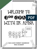 2014-2015  mdq parent handbook