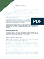 Ejemplos de Planeación Fiscal en Una Empresa