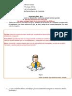 Hoja de Trabajo No.1 Gael Dhaenens