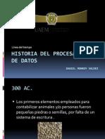 Historia Del Procesamiento de Datos