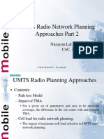 UMTS Radio Planning Approach