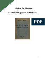 03 - Vinicius de Moraes - O Caminho Para a Distancia
