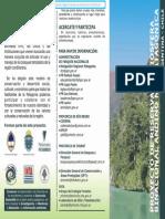 Folleto Formulacion RESERVA BIÓSFERA 2007