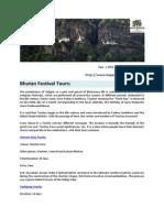 Bhutan Festival Tours - Happiness Kingdom Travels in Bhutan