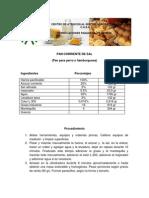 9- Elaboracion Pan Corriente de Sal