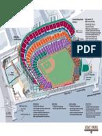 AT&T Park Ballpark Map 2014