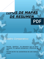 Tipos de Mapas Conceptuales