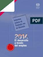Informe Del Trabajo en El Mundo 2014 Oit