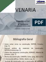 ALVENARIA - FECHAMENTO