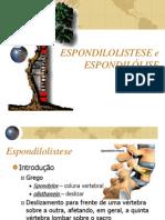 Espondilolistese e Espondilolise