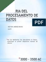 Historia Del Procesamiento de Datos_hectorjimenez