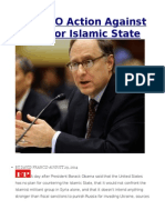 No NATO Action Against Russia or Islamic State