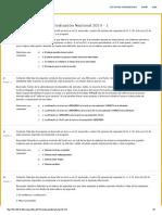 Evaluaciones Nacionales 2014-1 SISTEMAS OPERATIVOS