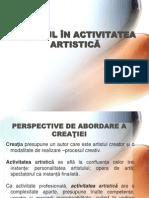 Prezentare Conferinta Stresul in Activitatea Artistica Final