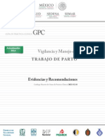 Vigilancia y Manejo Del Parto IMSS 052 08 EyR
