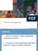 Elasticity in Economics