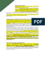 Informativo Stf 2013 - Eleitoral