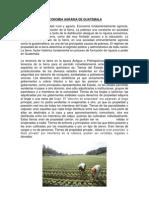 Economia Agraria de Guatemala