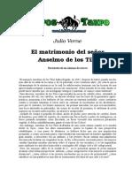 Julio Verne - El Matrimonio Del Señor Anselmo de Los Tilos