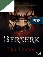 Berserk - Tim Lebbon