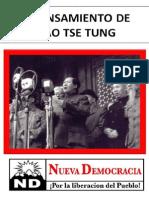 El Pensamiento de Mao Tse Tung