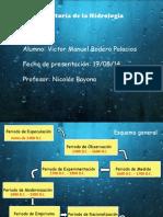 Historia de La Hidrología - Victor Bodero