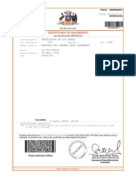 Certificado Chelita
