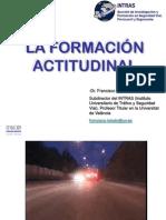 FORMACION ACTITUDINAL