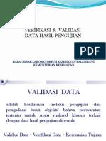 Validasi Data