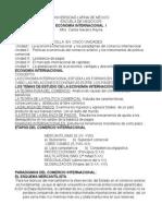 Apuntes 1ra Unidad Economia Internacional
