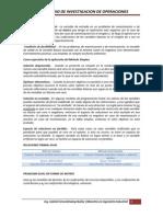 Formulario de Investigacion de Operaciones